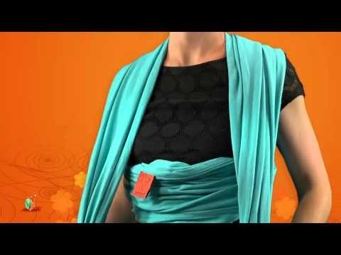 752c0956c067 ▷ ECHARPE de PORTAGE   mode d emploi - YouTube   Écharpe portage ...