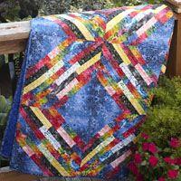 Rainbow Hippie Quilt Kit from ShopFonsandPorter.com