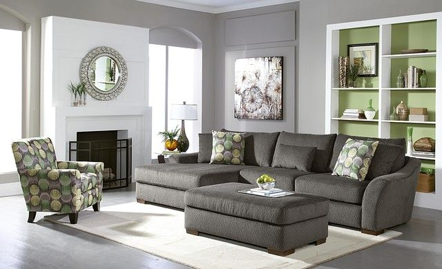 Gray living room furniture You like it colorful Then Gray is
