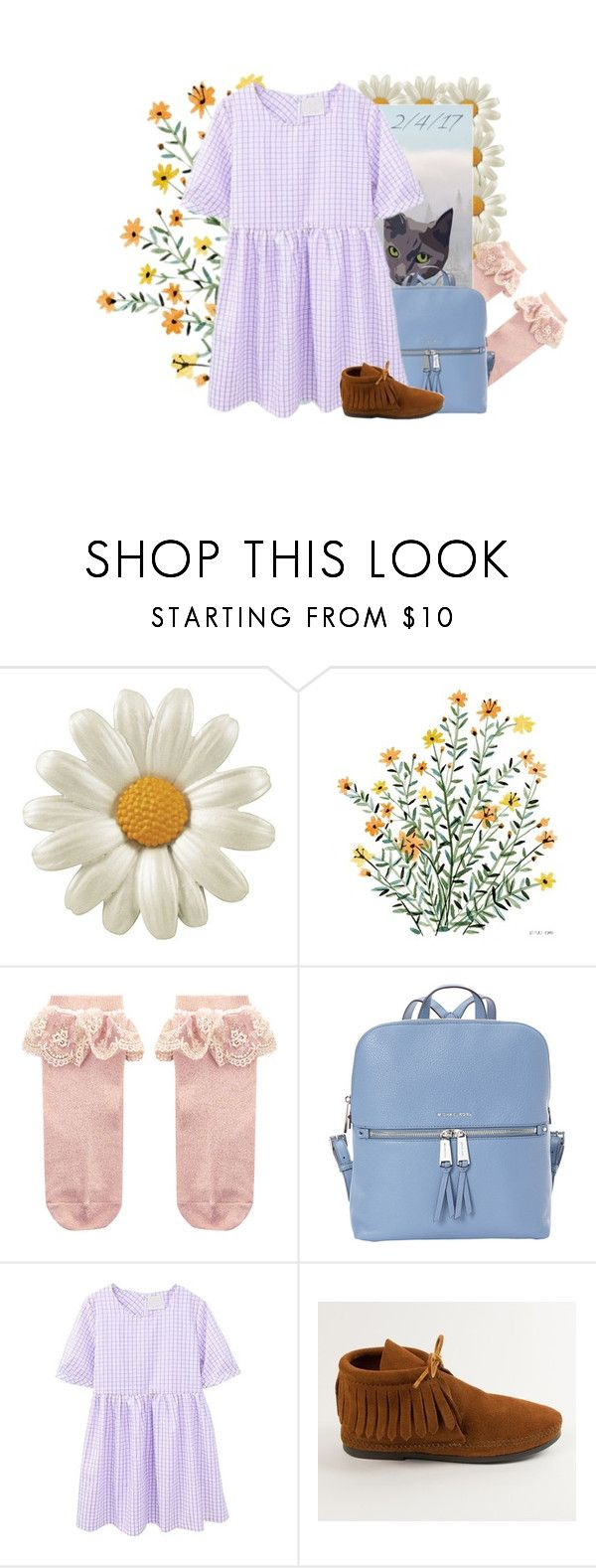 """2/4/17"" by yoyoyoyogangsterbobcat on Polyvore featuring Monsoon, Emma Holmes, MICHAEL Michael Kors and Minnetonka"