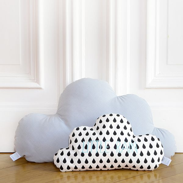 kissen wolke little rain klein kinderzimmer von little man happy auf pillows