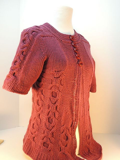 New Design: Serenity Sweater | WIPs 'N Chains