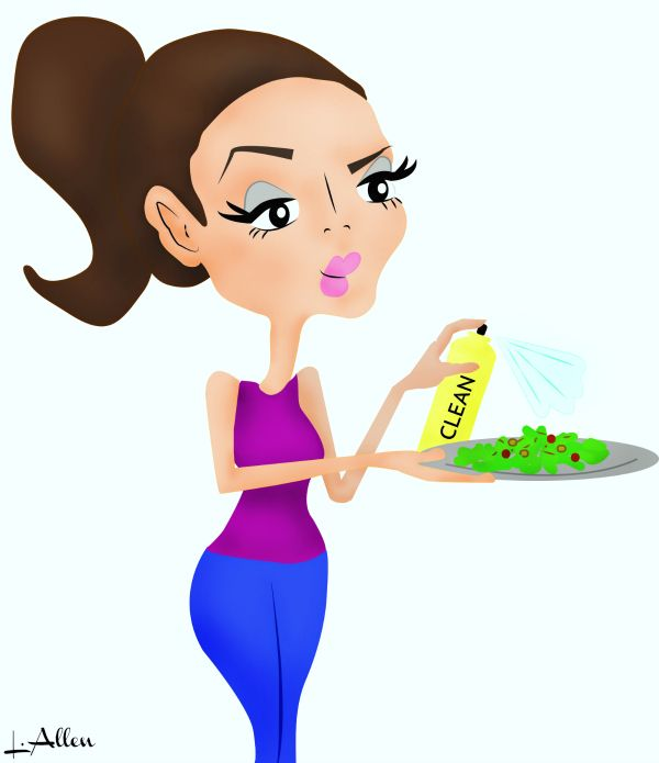 Tips for spring cleaning your diet. What to keep and what to toss as well as easy, healthy food swap suggestions. #healthydiettips #eatwell #eathealthier
