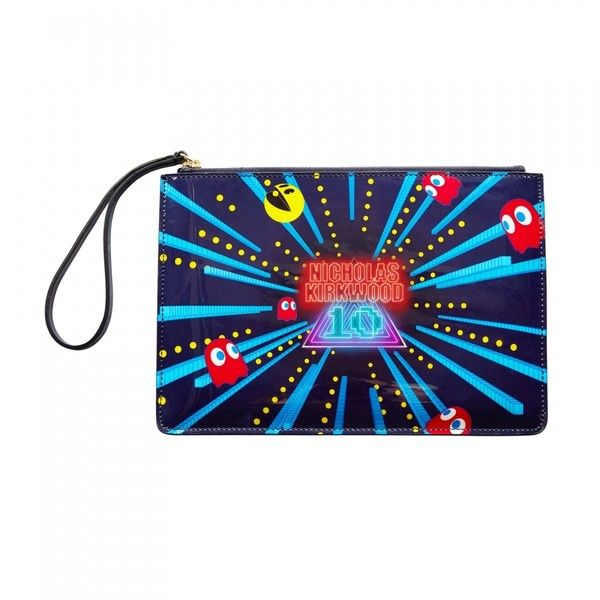 The Arcade Pouchette Liked On Polyvore Featuring Bags Handbags Clutches White Purse