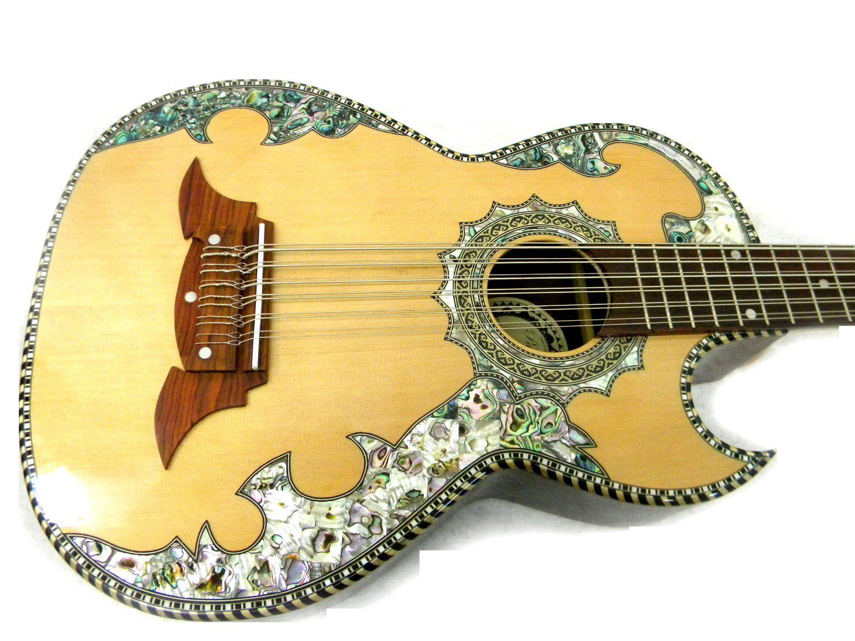Paracho Elite Alvarado Bajo Sexto Guitar Pinterest Home Electrics Rare Finds Used Vintage Hofner 463 S E3 Archtop Mountain Village Mandolin Banjo Acoustic Instruments
