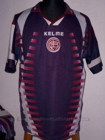 Lanus Casa camisa de futebol 1999