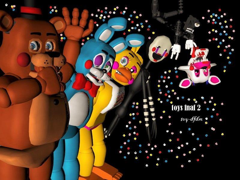 Fnaf 2 Toys Download O Cinema 4d By Toy Dfdm Fnaf Cinema 4d Toys