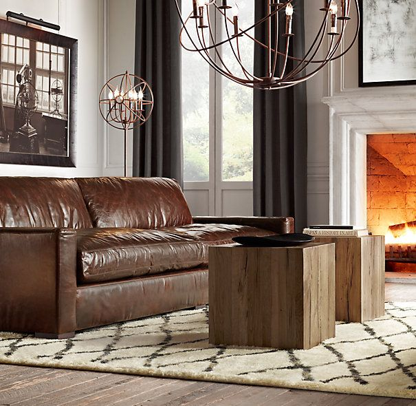Maxwell Leather Sofa Is Nice But Prefer A Higher Arm.