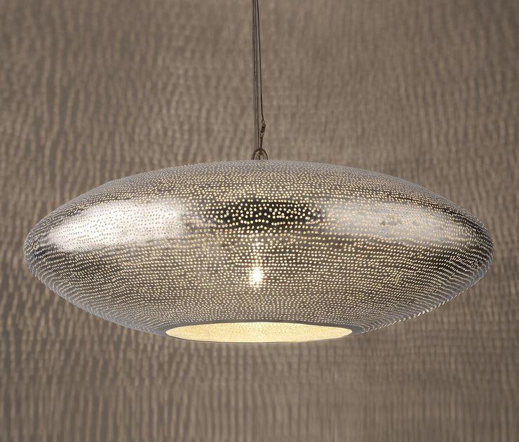 Zenza Gabs Filisky Silver Pendant Light Ceiling Lights Ceiling