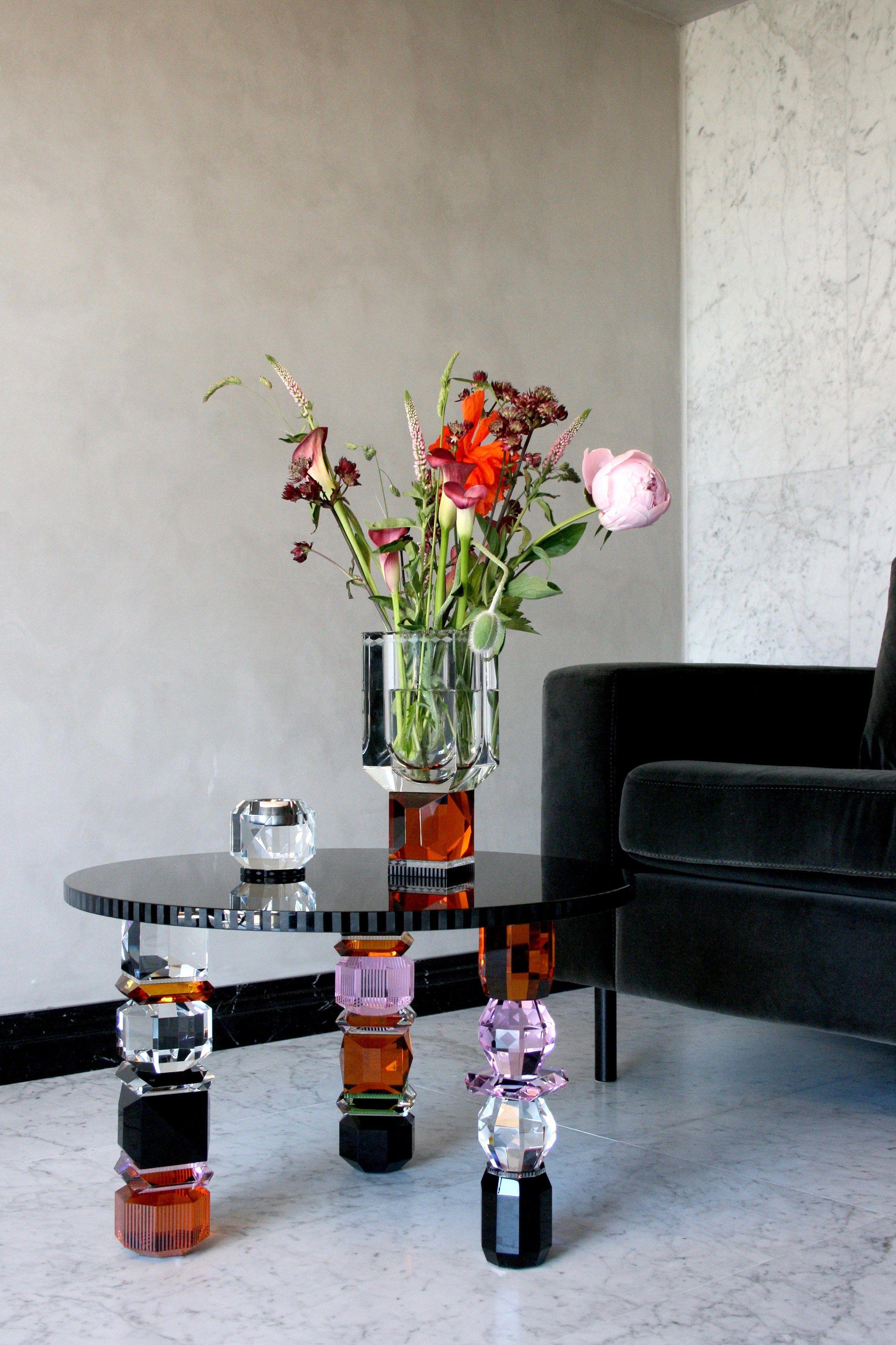 Round Crystal Coffee Table Orlando By Reflections Copenhagen Traditional Mirrors Copenhagen Design Handcrafted Decor [ jpg ]