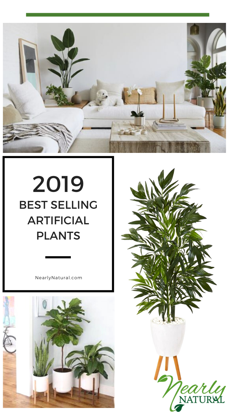 The Best Faux Greenery for your home. #NearlyNatural #artificialplants #gardener #plants