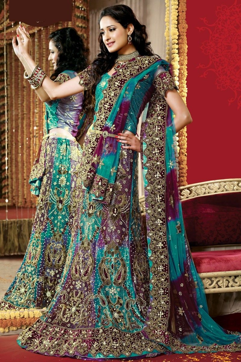indian traditional bridal dresses collection 2014