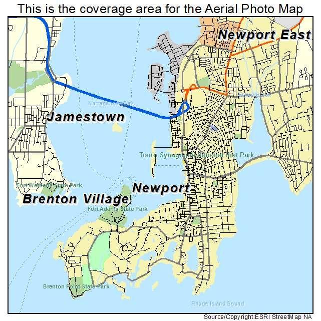 newport rhode island | Newport Rhode Island Map | Summer Colonies ...
