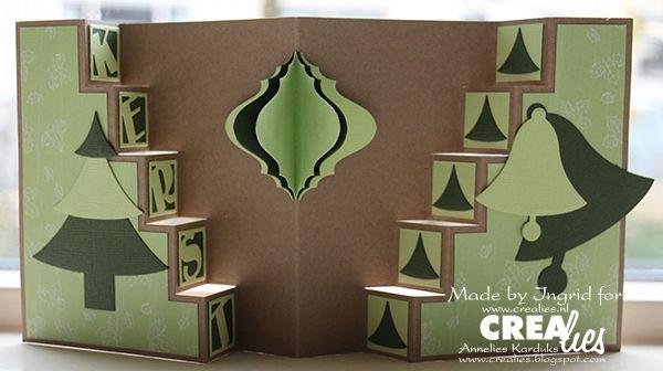 Op de Kreadoe heeft Ingrid deze nieuwe kaart met Crealies Create A Card stans no. 10 laten zien. Inmiddels staat deze download in de webwinkel om gratis te downloaden en te printen (op ware grootte): http://www.crealies.nl/detail/1169367/crealies-create-a-card-10-down.htm Meer info: http://www.crealies.nl/n1/24063/2014-DT-Creations.htm  Crealies Create A Card no. 10 Download CCAC 10 no. 3 Partz no. 1 KERST Crea-Nest-Lies Small no. 2 Crea-Nest-Lies Small no. 3 Crea-Nest-Lies Small no. 4