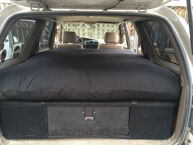 Fs Fourcorners 3rd Gen 4runner Cargo Box And Sleeping