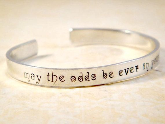 Hunger Games Jewelry / Hunger Games Bracelet / by OffTheCuffQuotes, $14.00