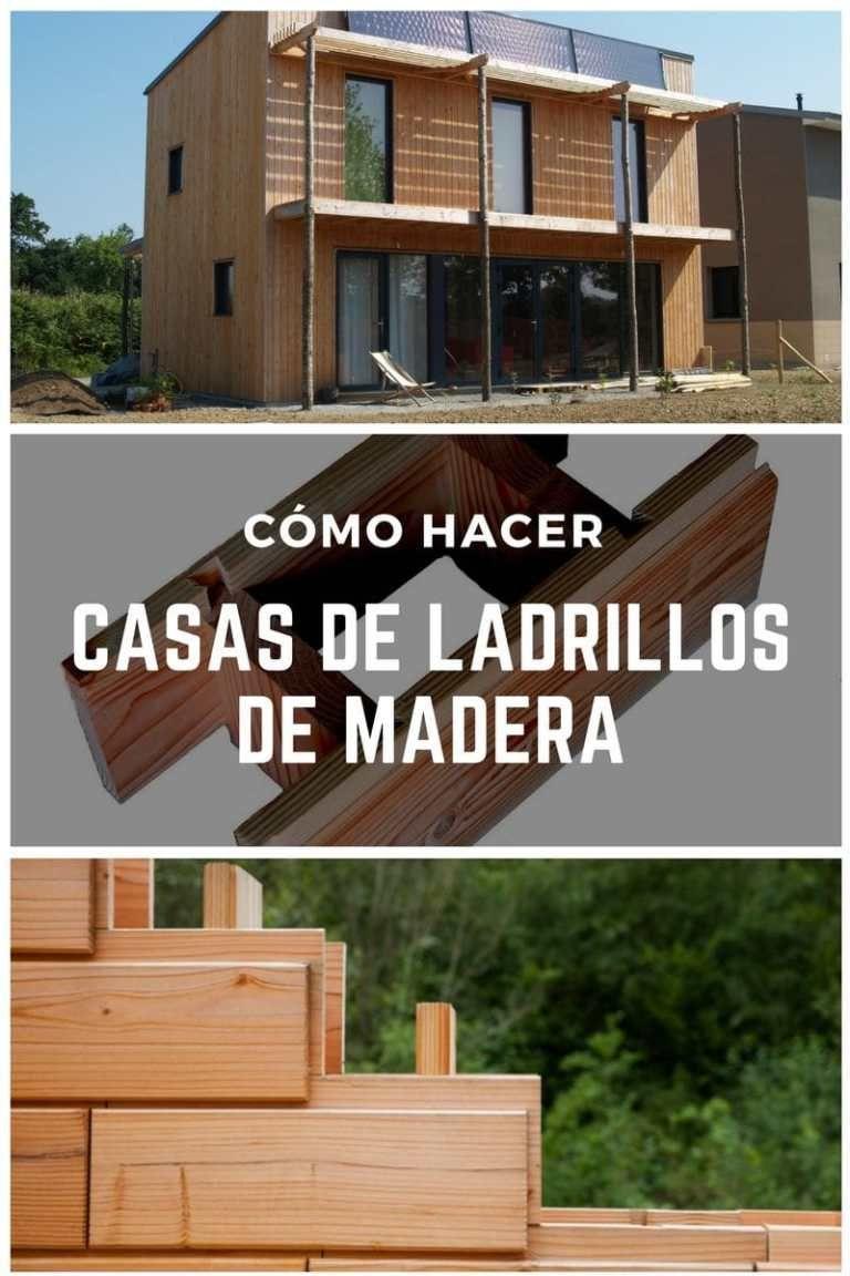 Brikawood las casas de ladrillos de madera tipo lego que for Casa moderna lego