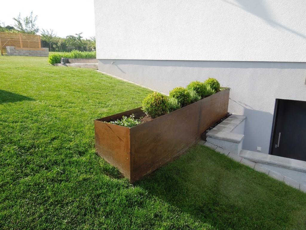 hochbeet cortenstahl metallwerk garden Pinterest