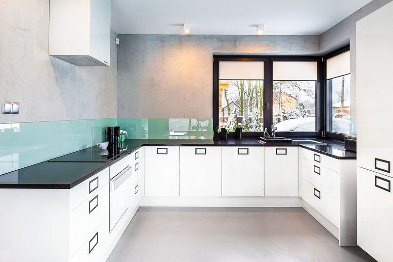 Betonowe Sciany W Kuchni Home Decor Kitchen Decor