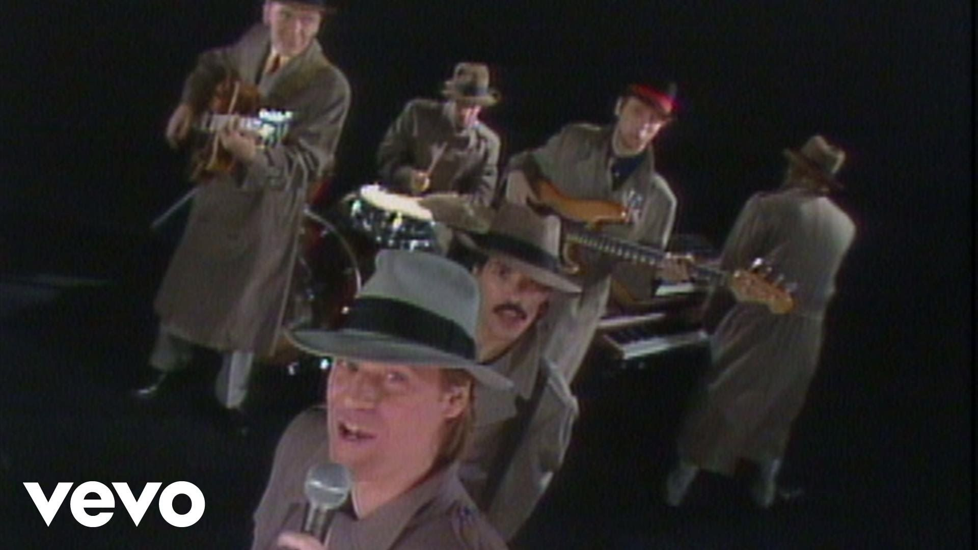 """""""Private Eyes,"""" performed by Daryl Hall & John Oates from ..."""