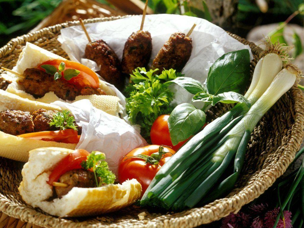 Photo of Kebab stew in baguette