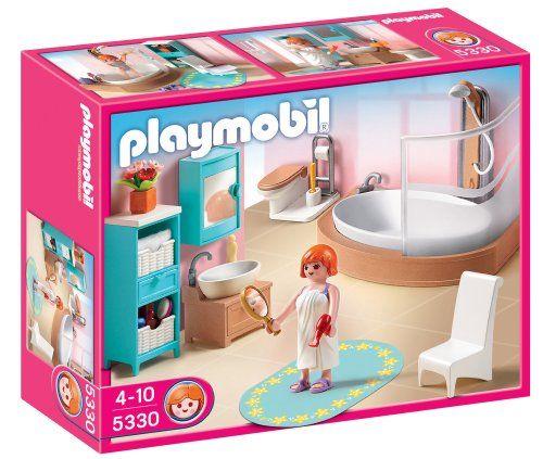 Playmobil 5330 Jeu De Construction Salle De Bains Avec