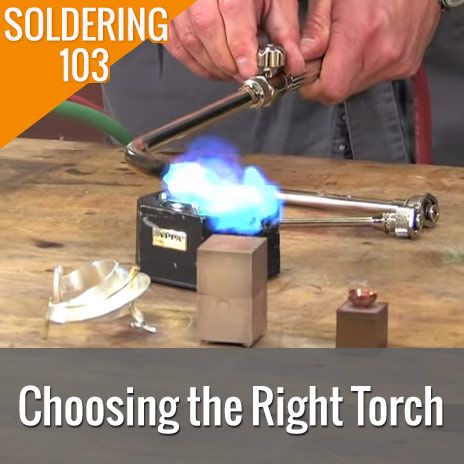 Soldering torches and their differences