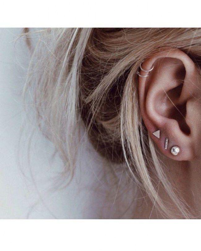 b7f6bd472 Bijoux ao pé do ouvido: combinações de brincos e piercings | Bijus ...