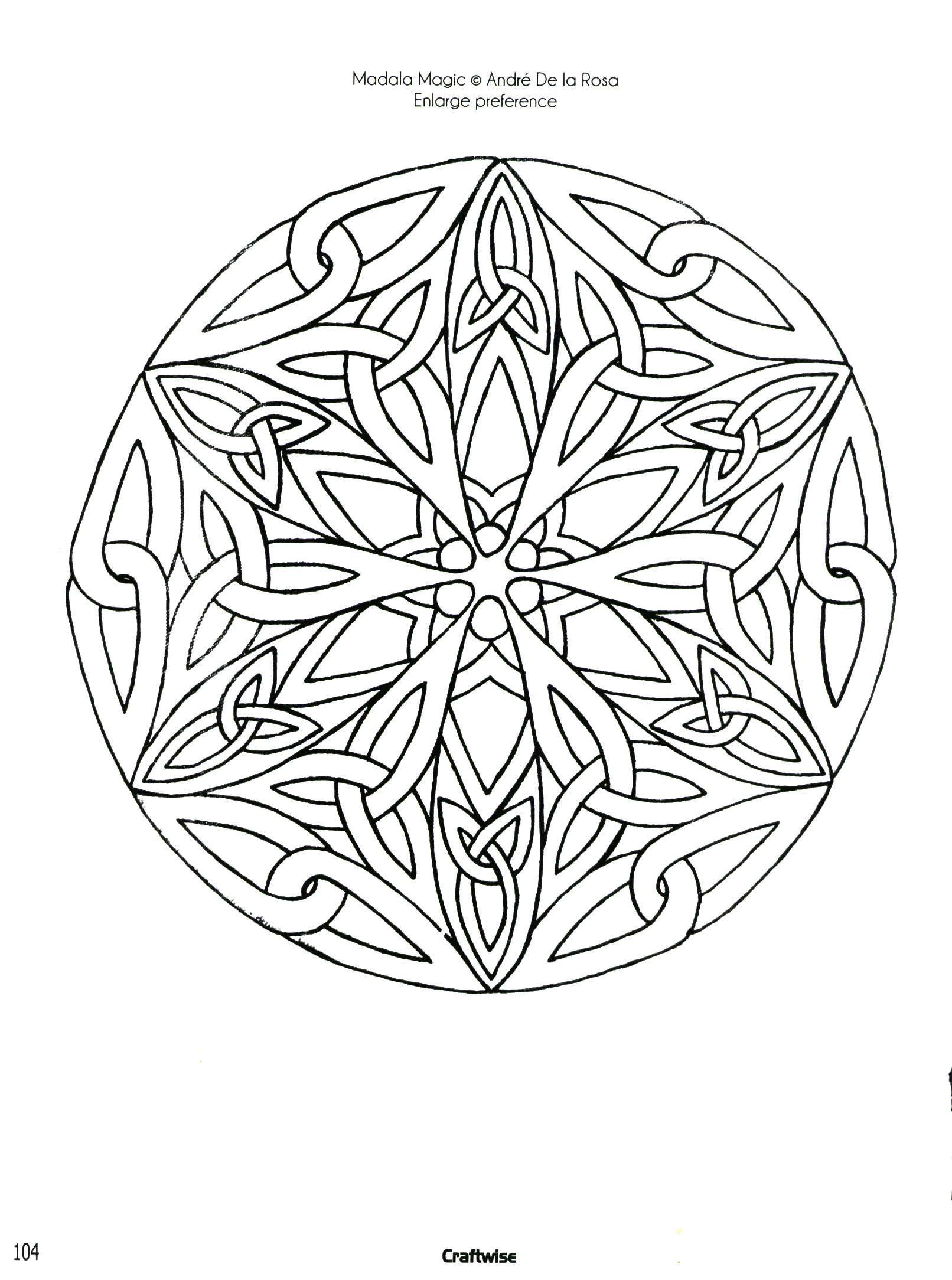 Celtic Flower Design