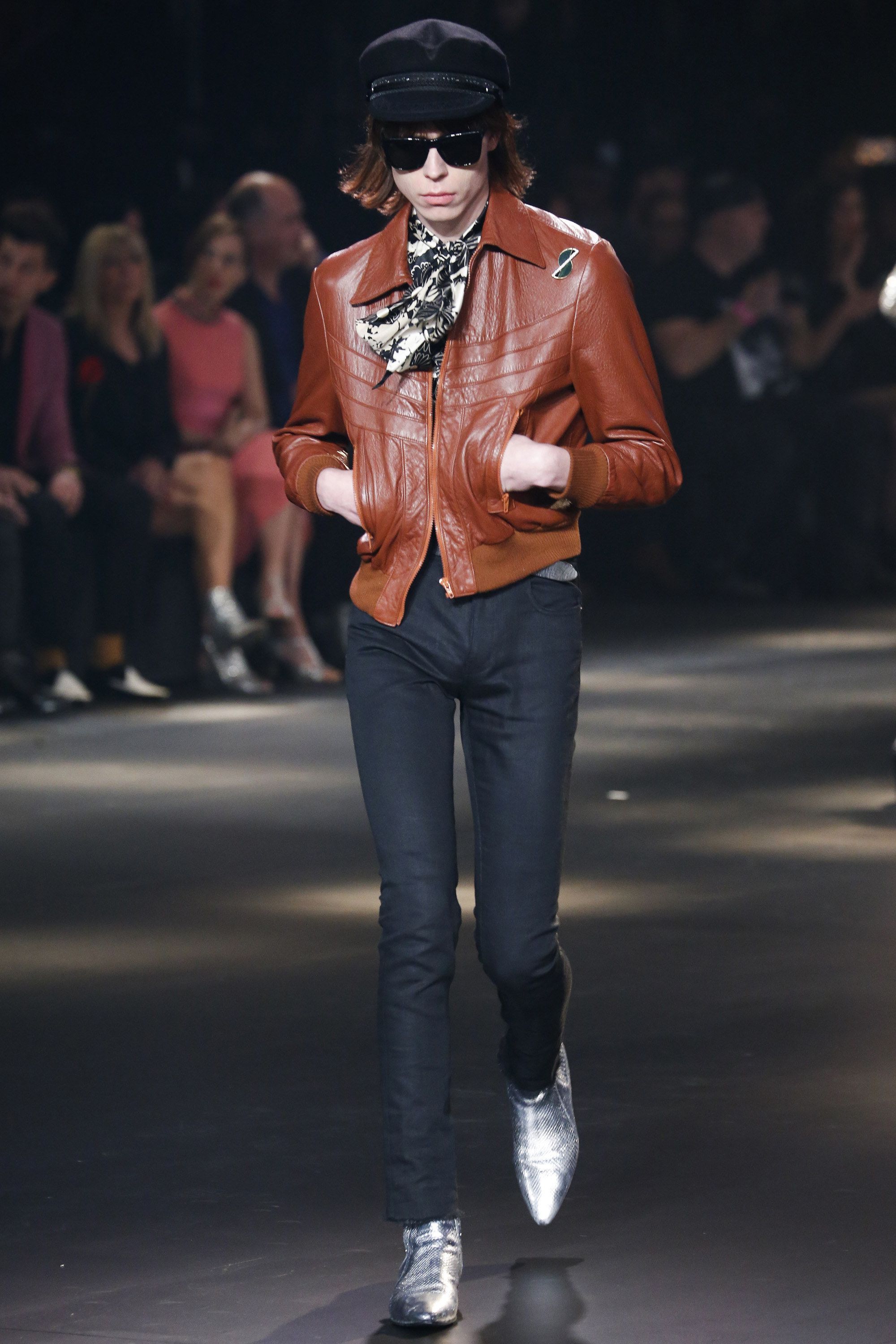 a0b5cbda423 Saint Laurent Fall 2016 Menswear Fashion Show | Menswear Fall 2016 ...