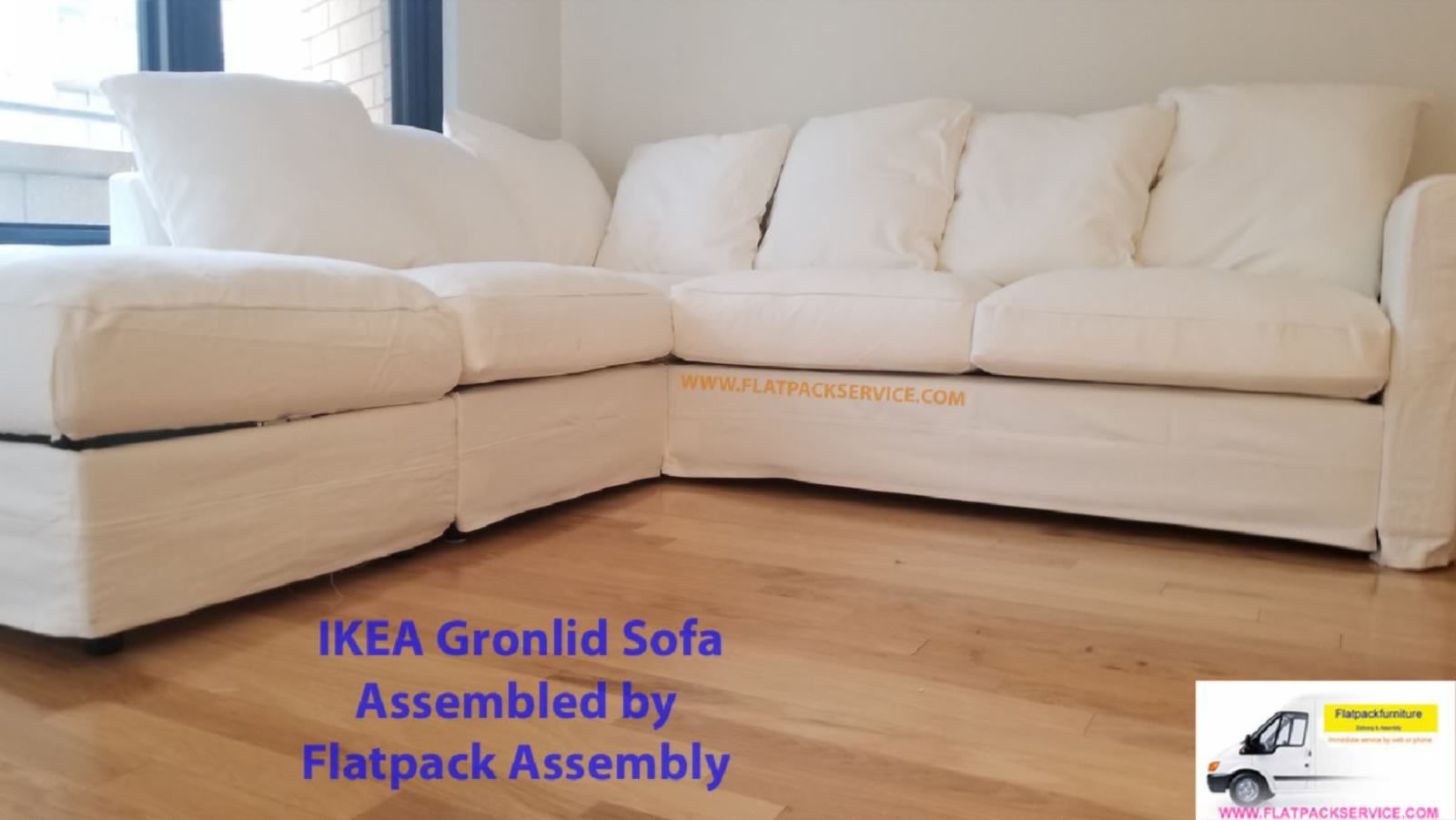 Fine Ikea Gronlid Sofa Flatpack Assembly 2 Ikea In Home Caraccident5 Cool Chair Designs And Ideas Caraccident5Info