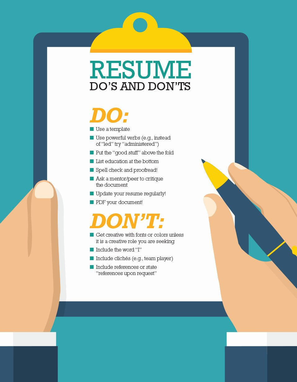 Dos And Don Ts Resume Awesome Resume Tips For The Aml Professional