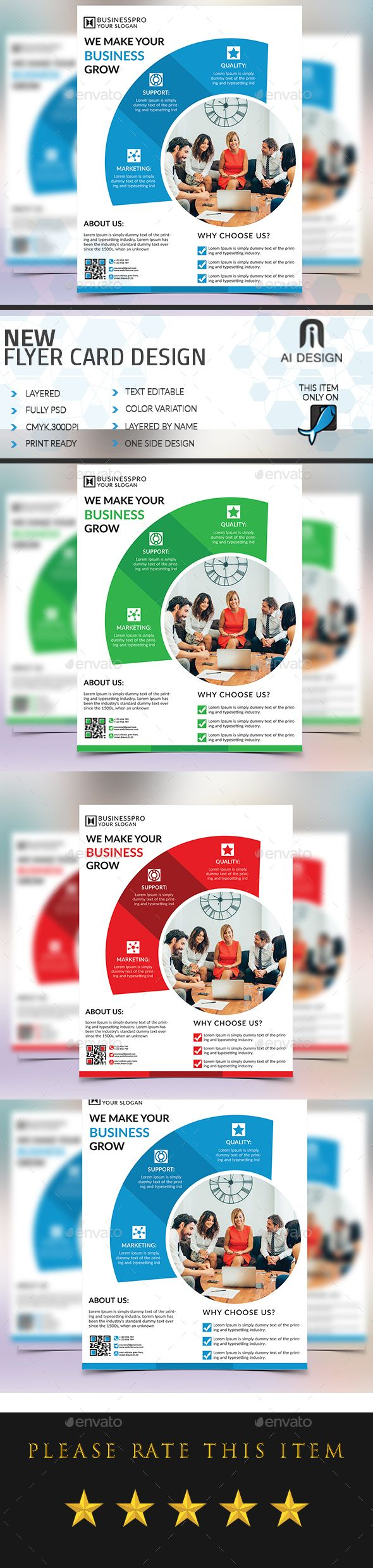 Corporate Flyer  Template Flyers And Flyer Template