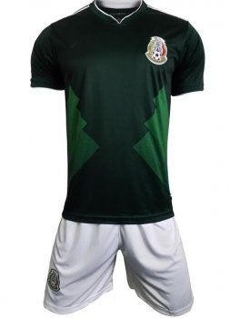 3c7adb73b0f 2017-18 Cheap Jersey Suit Mexico Soccer Team Home Replica Football Shirt   JFCB869