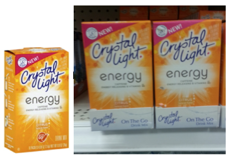 Crystal Light Coupon   $1.00 Off Crystal Light Coupon