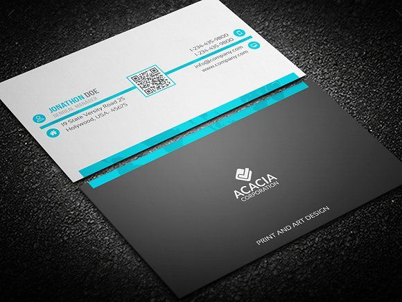 Professional business card pinterest business cards card professional business card templates features fully editable template easily edit color text photoshop psd one file fo by designghor reheart