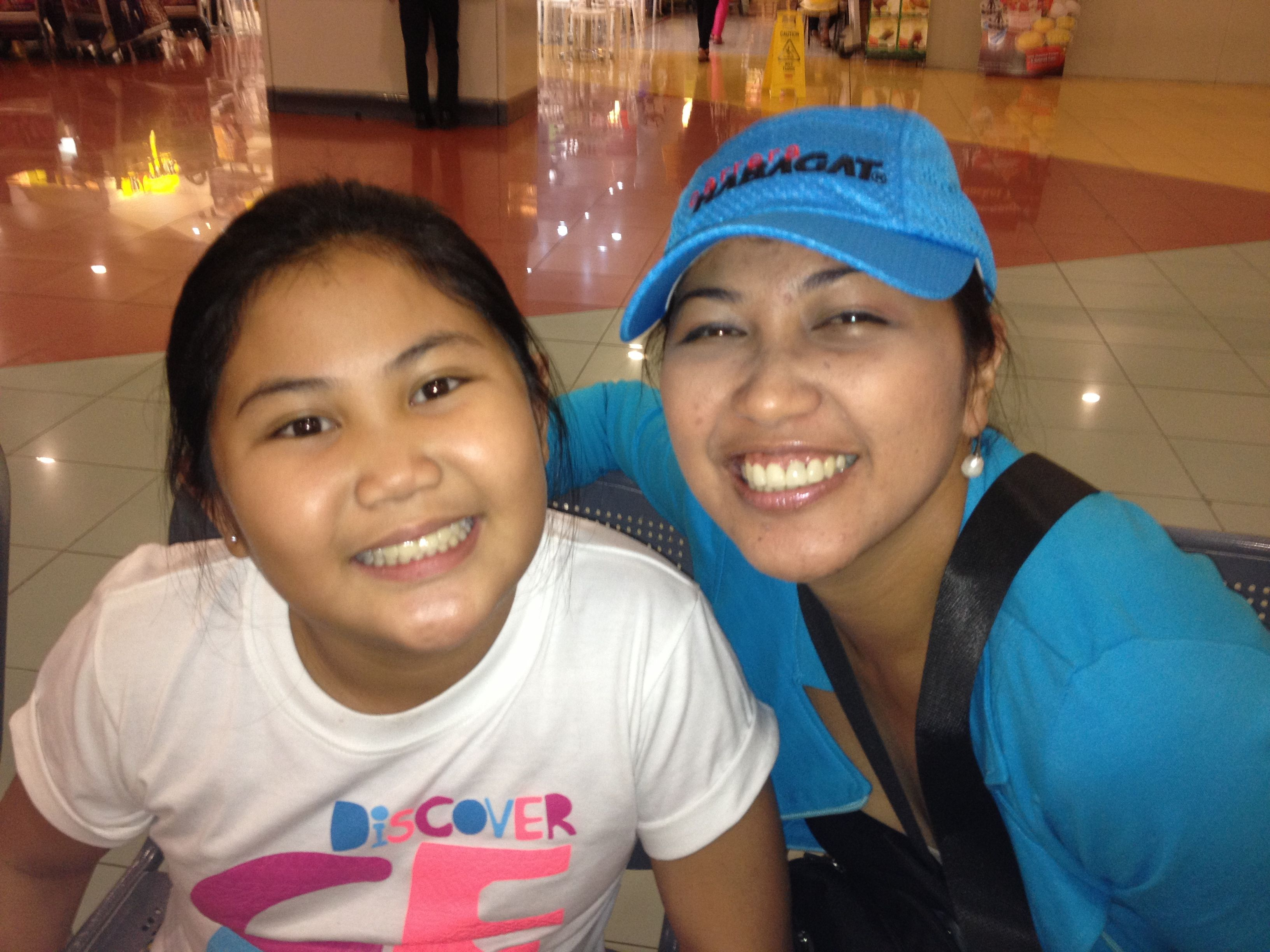 Mommy seeing Nicole in Manila again after Yolanda..