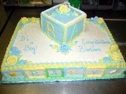Baby Shower Sheet Cakes Baby Shower Cakes For Girls Sheet Cake