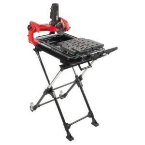 Husky 7 In Wet Tile Saw With Laser And Stand