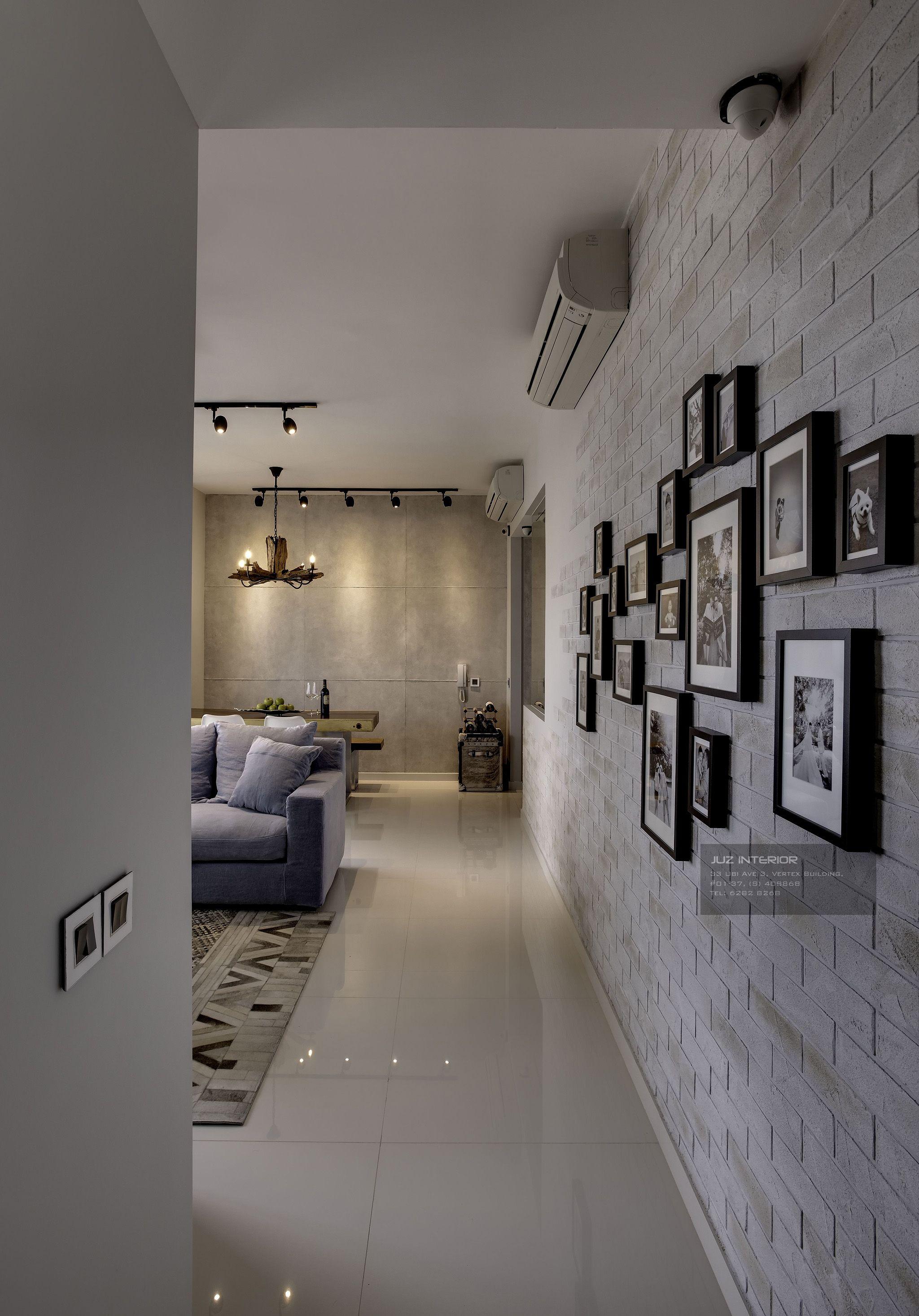 Sky Habitat By Juz Interior Scandinavian Interior Living Room Industrial Livingroom Open Concept Kitchen Living Room