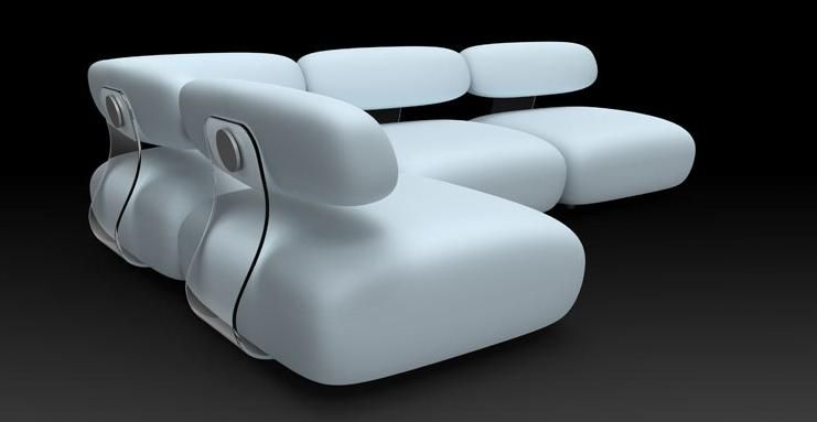 Best Sectional Sofa Design Bounce By Karim Rashid Modern Sofa 400 x 300