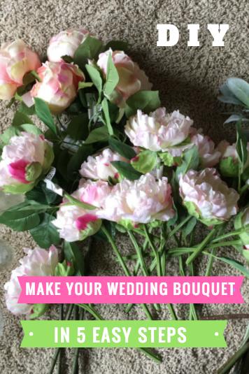 How to Make a Fake Flower Wedding Bouquet | Diy Wedding Centerpieces ...