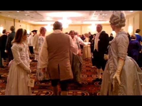 Prince William Dance, George Washington Ball