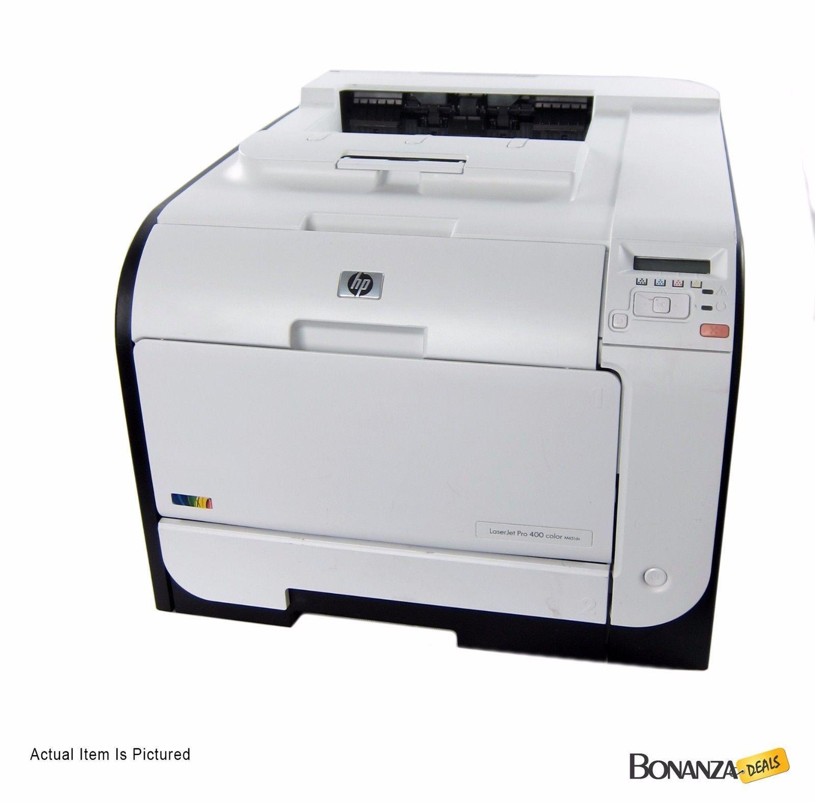 Hp M451dn Laserjet Pro 400 Color Laser Printer Duplex 24k Pages Ce957a Laser Printer Printer Color