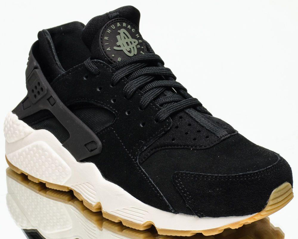 62af590202ba6 Nike Wmns Air Huarache Run SD women lifestyle sneakers NEW black sail  AA0524-001  Nike  FashionSneakers