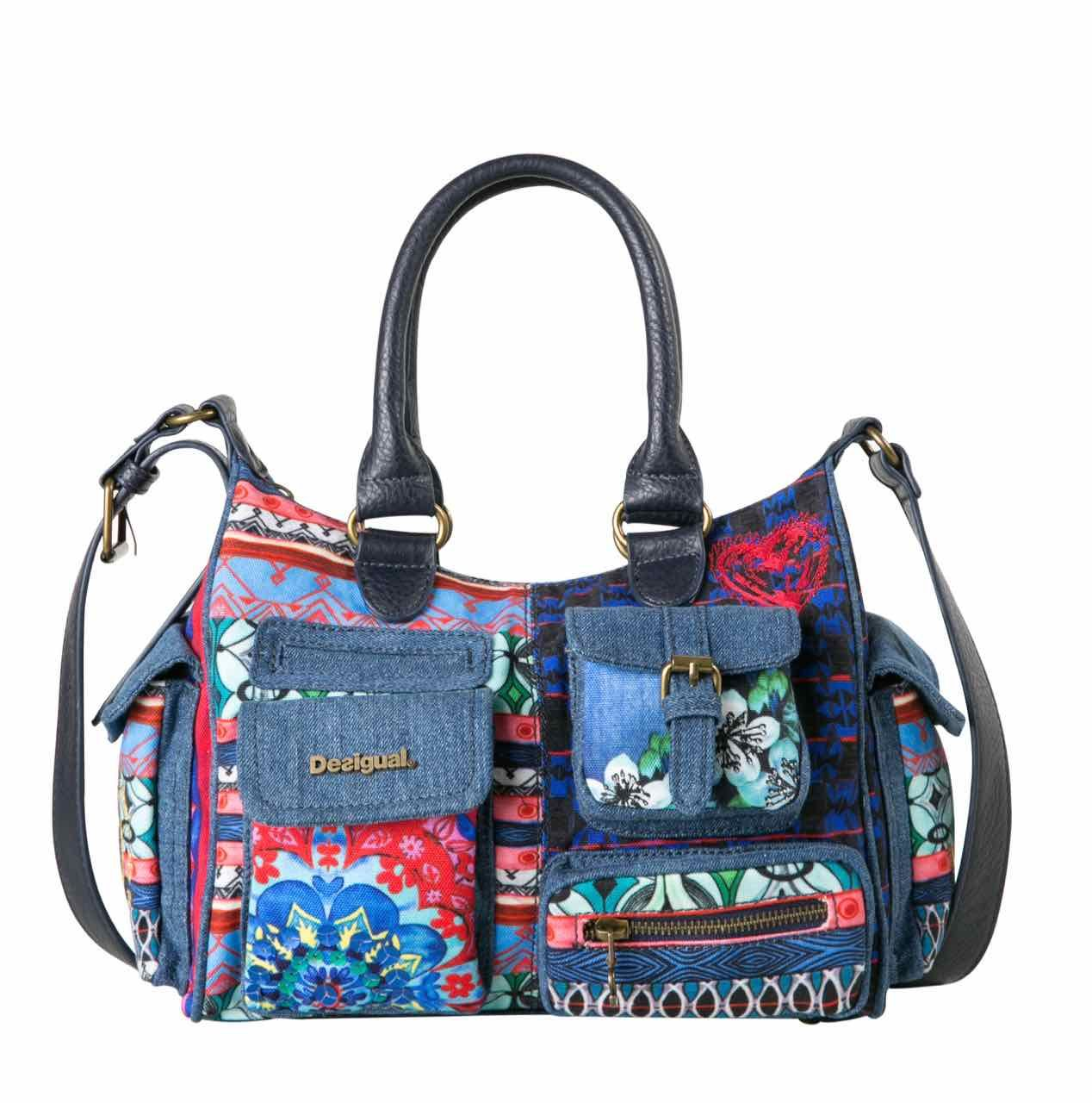 65X52E2_5001 Desigual Bag Mini London Culture Club Buy