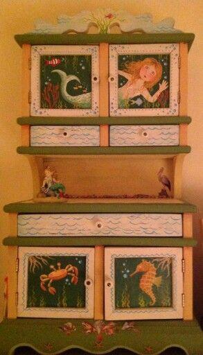 Mary Engelbreit - mermaid cabinet