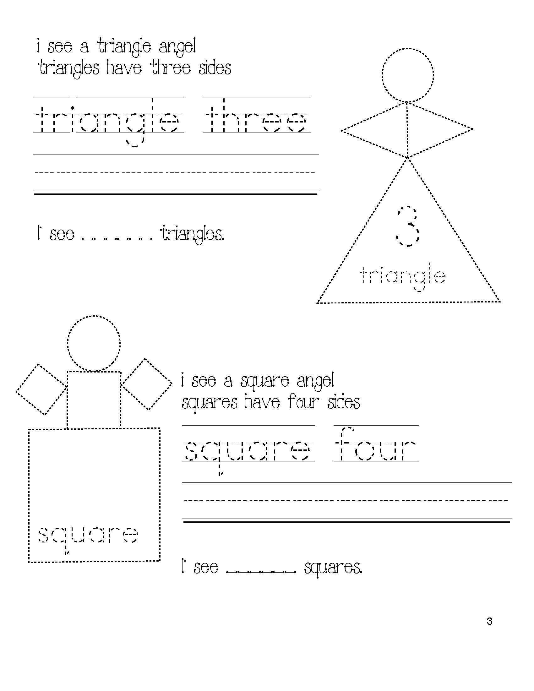 Free shapely snow angel packet includes booklet where students includes booklet where students read fix the sentences by adding capitalization punctuation shape craftivities a shape worksheet traceable shape ibookread Download