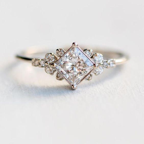30 Unique Engagement Rings for the Designer Bride