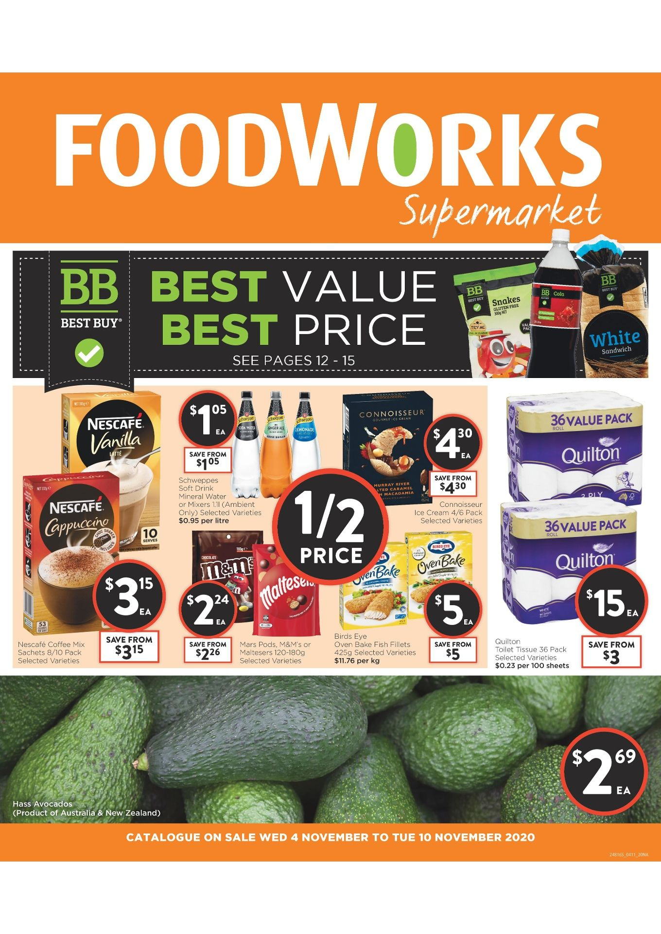 Foodworks Catalogue 4 Nov – 10 Nov 2020